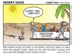 Desert Oasis - Isaiah 55:2