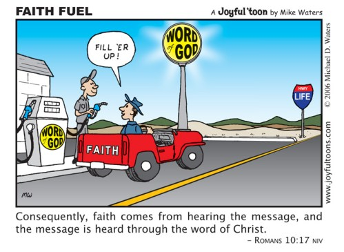 Faith Fuel - Romans 10:17