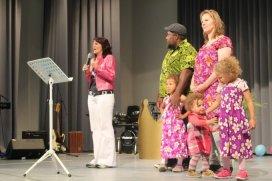 Aussendung Familie Bune nach Papua Neuguinea