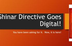 The Shinar Directive goes Digital