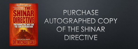 Purchase Autographed Copy of the Shinar Directive
