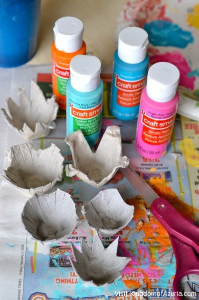 paints and supplies