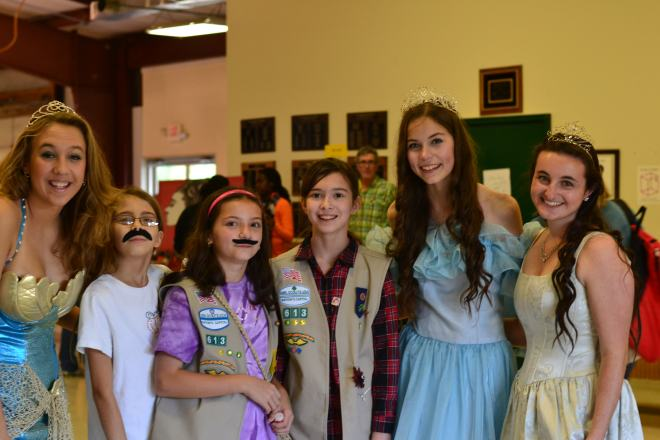 girl scout adventure day