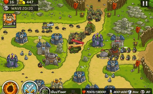 Kingdom Rush Frontiers Hacked Kingdom Rush Frontiers Hacked