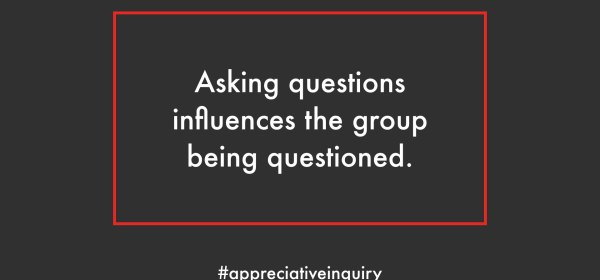 influence the group with questions