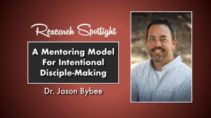 Dr. Jason Bybee Research Spotlight