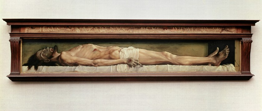 Hans Holbein the body of Christ in the tomb