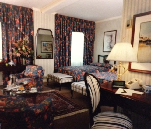 Rooms Through The Years At The King Edward Hotel  History