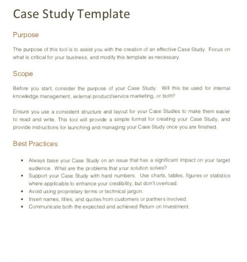 How To Write A Case Study With Examples At KingEssays©