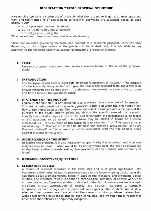 Tips On How To Write Thesis And Dissertation Proposal At