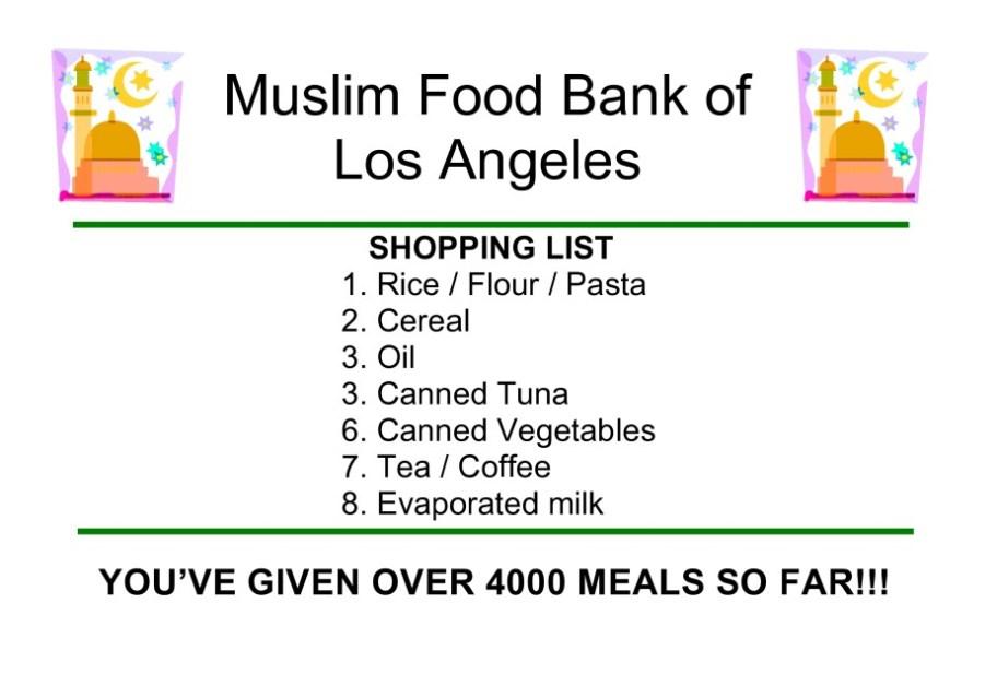 Food Bank Poster