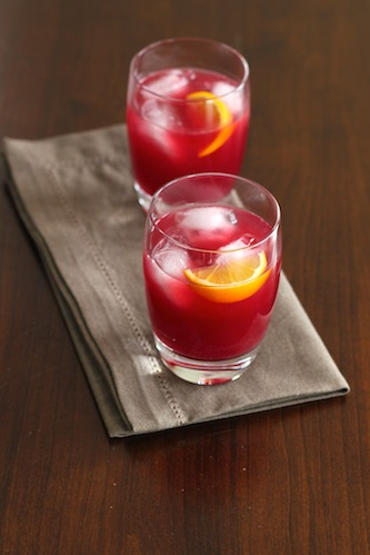 Blood Orange Gin Drink