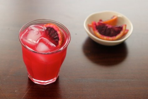 Blood Orange Margaritas | KingfieldKitchen