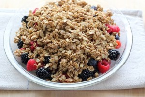 Fresh Berry Oatmeal Crisp