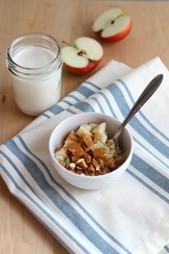 Apple Quinoa Bowl