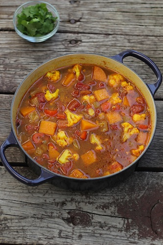 Indian Spiced Vegetable Soup
