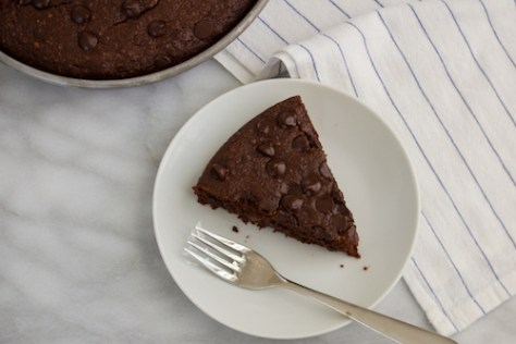 GF Chocolate Hazelnut Cake