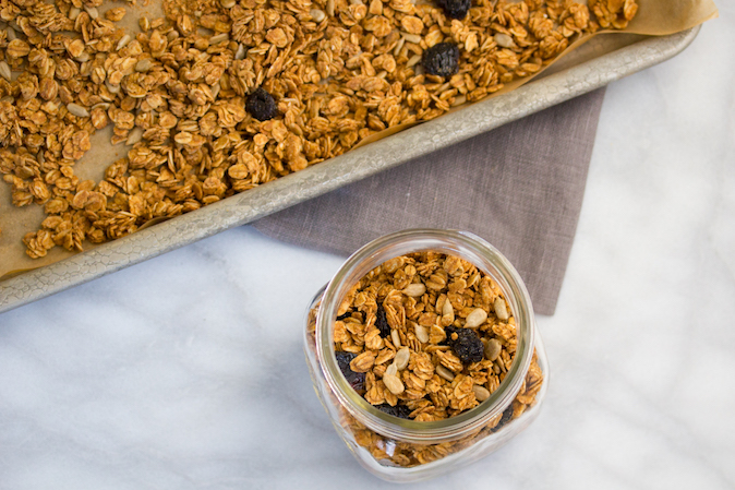 GF Sunflower Seed Granola