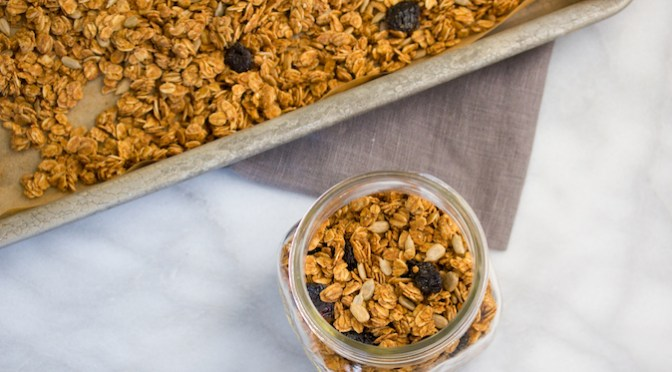 Sunflower Seed Butter Granola Recipe