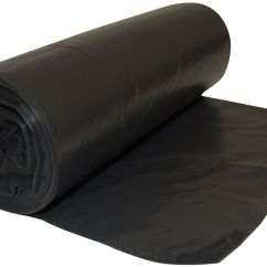 Bin Bags Chairs Black Office Without Wheels B Andq Refuse Sack 90l Pack Of 20 Departments Diy