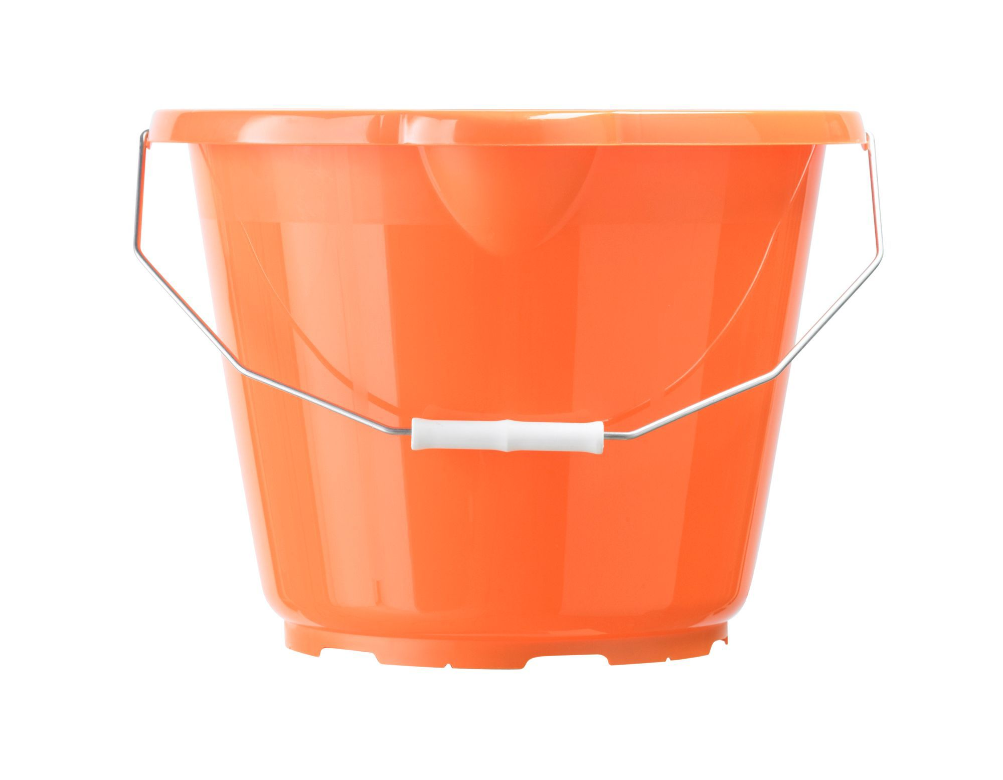 orange bucket chair wedding covers newcastle b andq plastic 12000 ml departments diy at