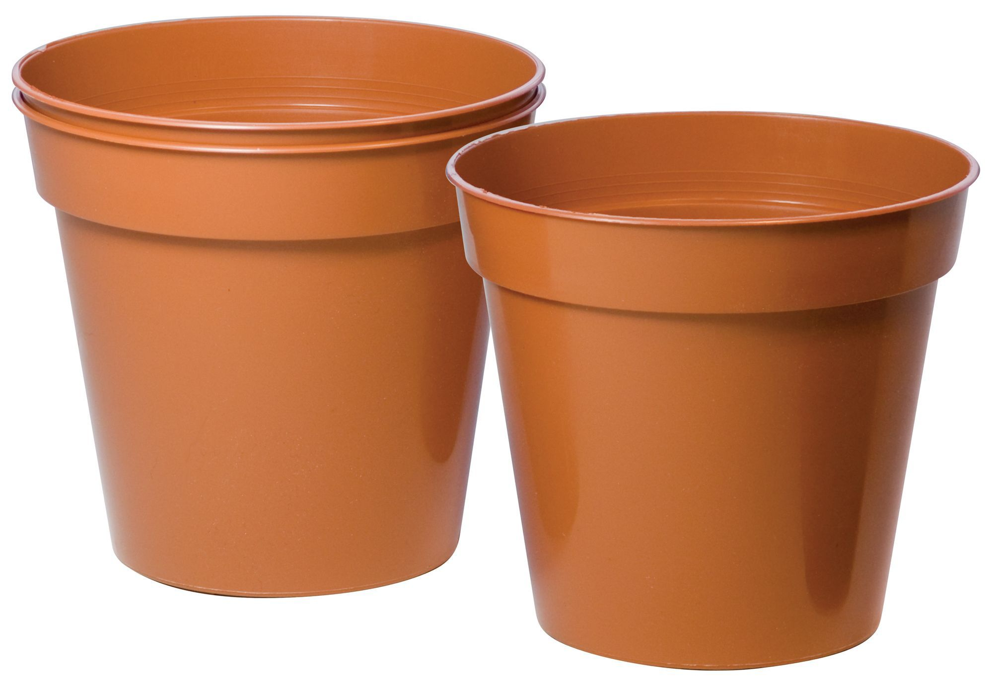 how to paint plastic chairs reupholster swivel office chair terracotta plant pot (dia)150mm, pack of 3   departments diy at b&q