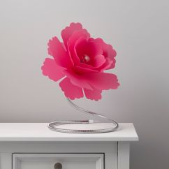 Kitchen Tables Sets Cart On Sale Paloma Flower Fuchsia Table Lamp | Departments Diy At B&q
