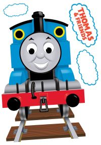 Fun4Walls Thomas The Tank Engine Multicolour Self Adhesive ...