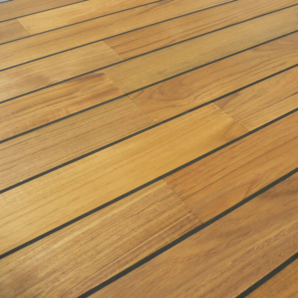 laminate kitchen ideas wall hangings colours bali boat effect teak real wood top layer flooring ...