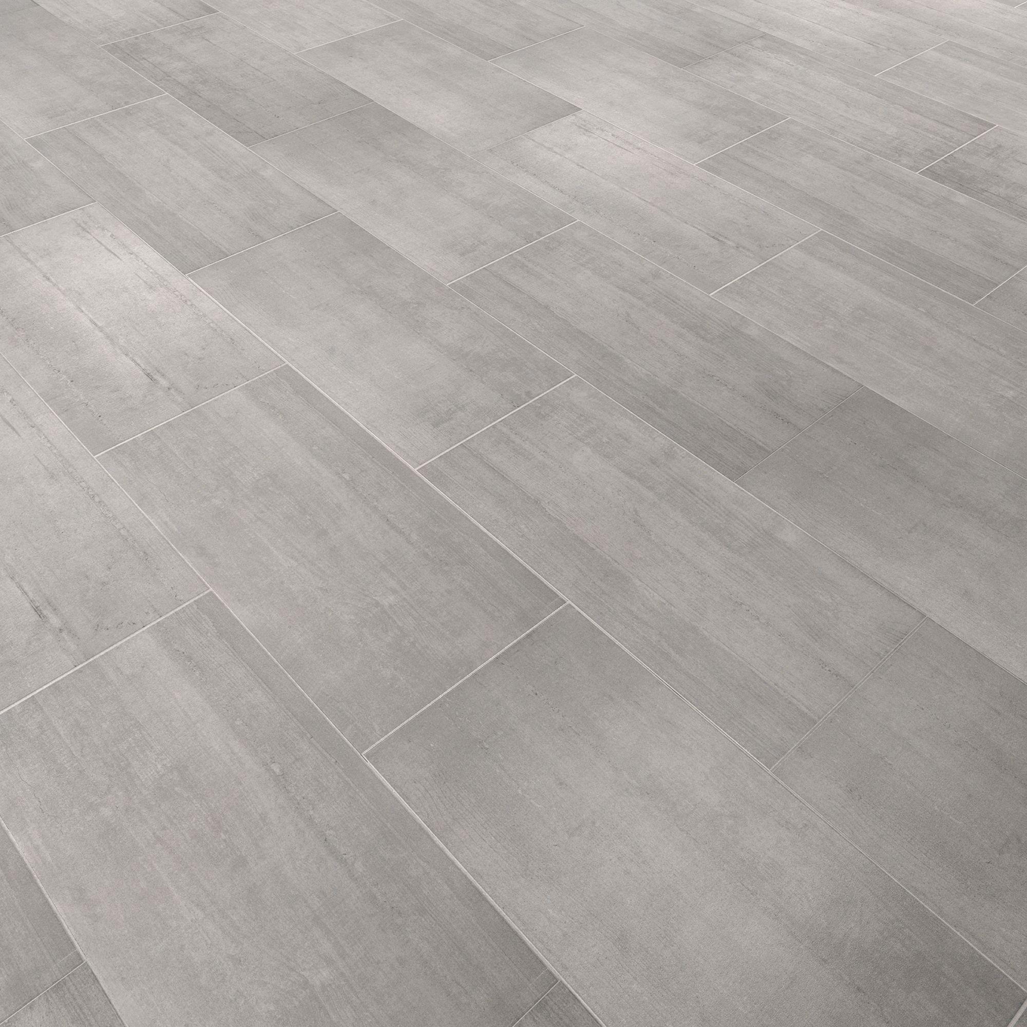 Leggiero Grey Concrete Effect Laminate Flooring 172 m Pack  Departments  DIY at BQ
