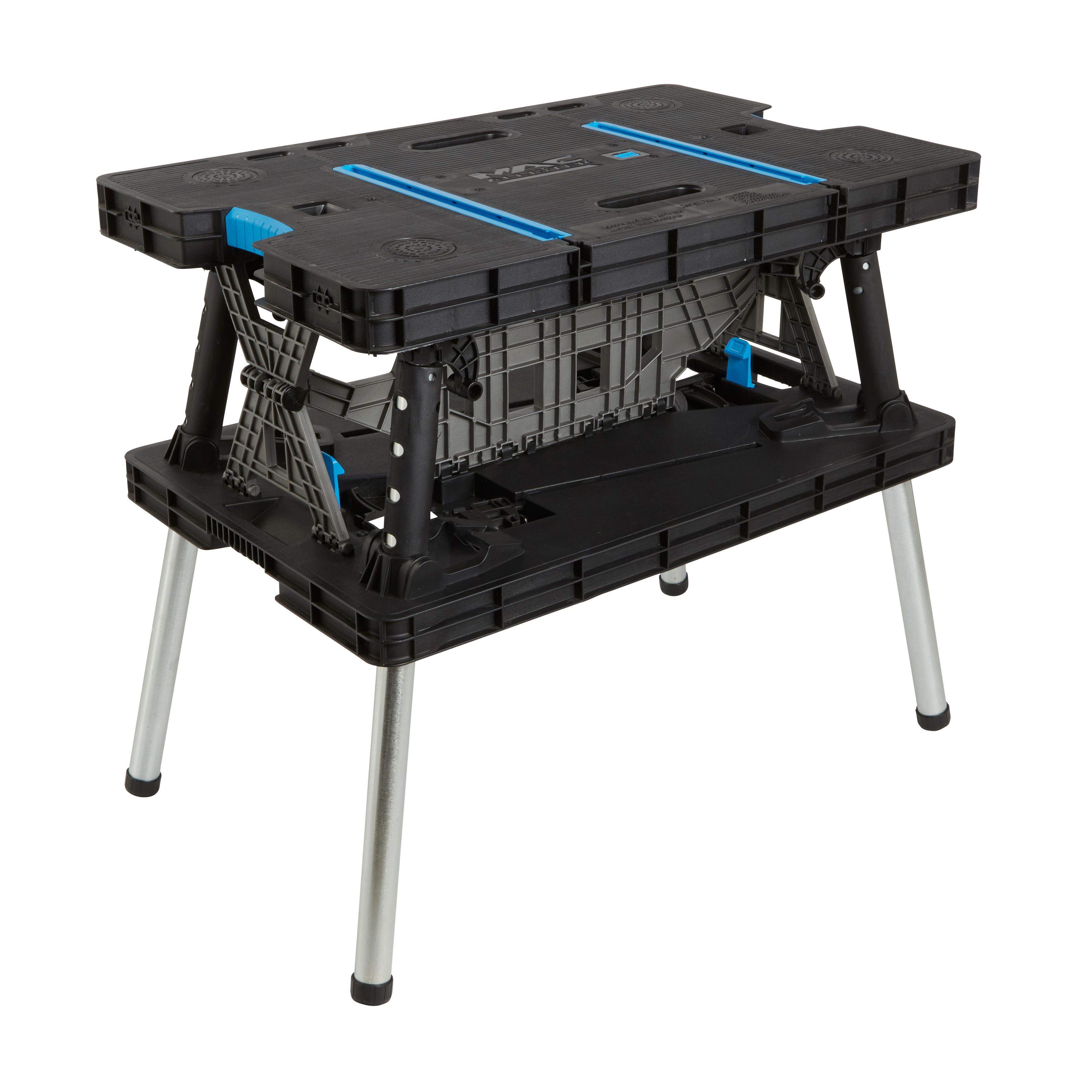 Mac Allister Foldable Quick grip clamp Workbench W550mm
