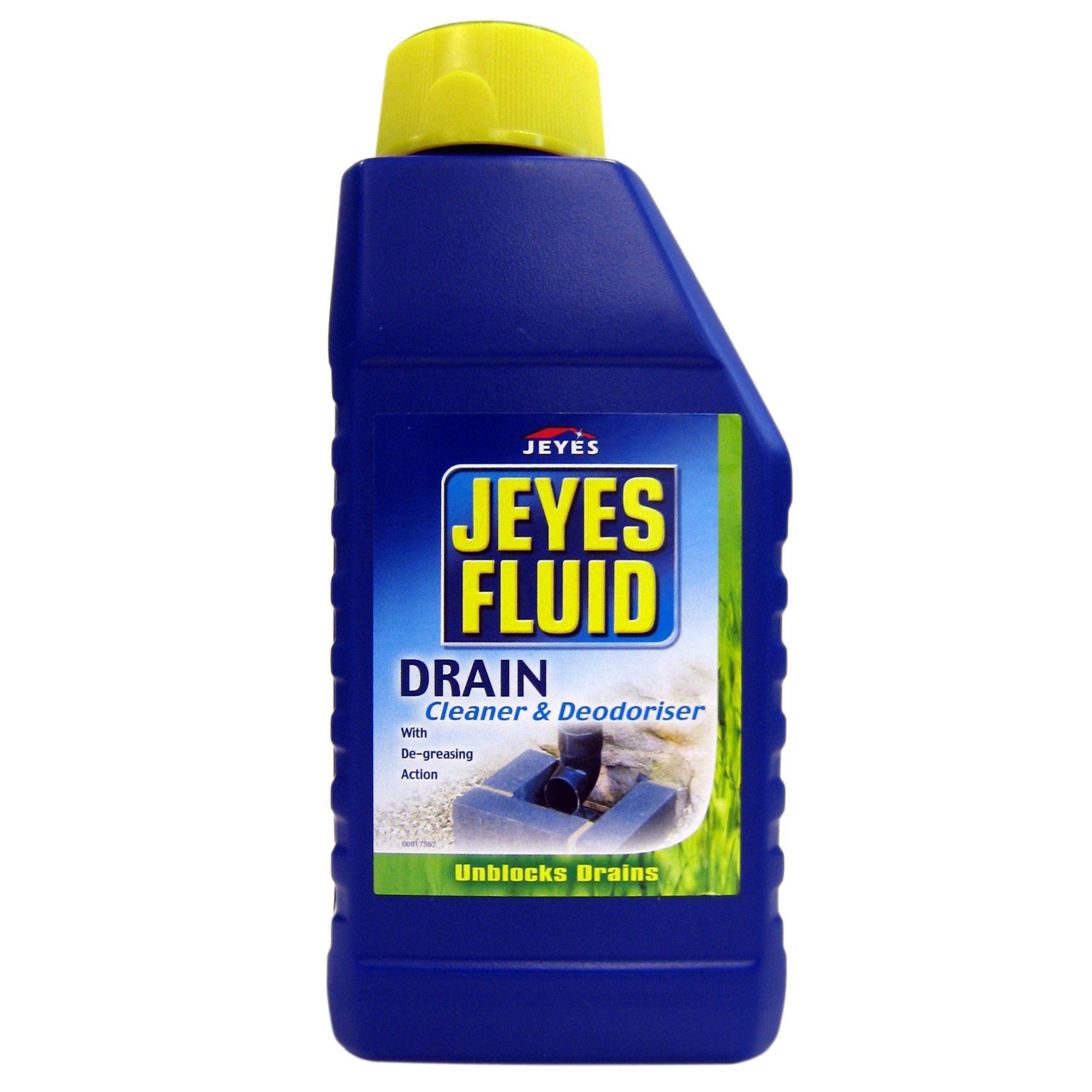 kitchen sinks with drain boards the orleans island jeyes fluid cleaner & unblocker bottle, 1000 ml ...