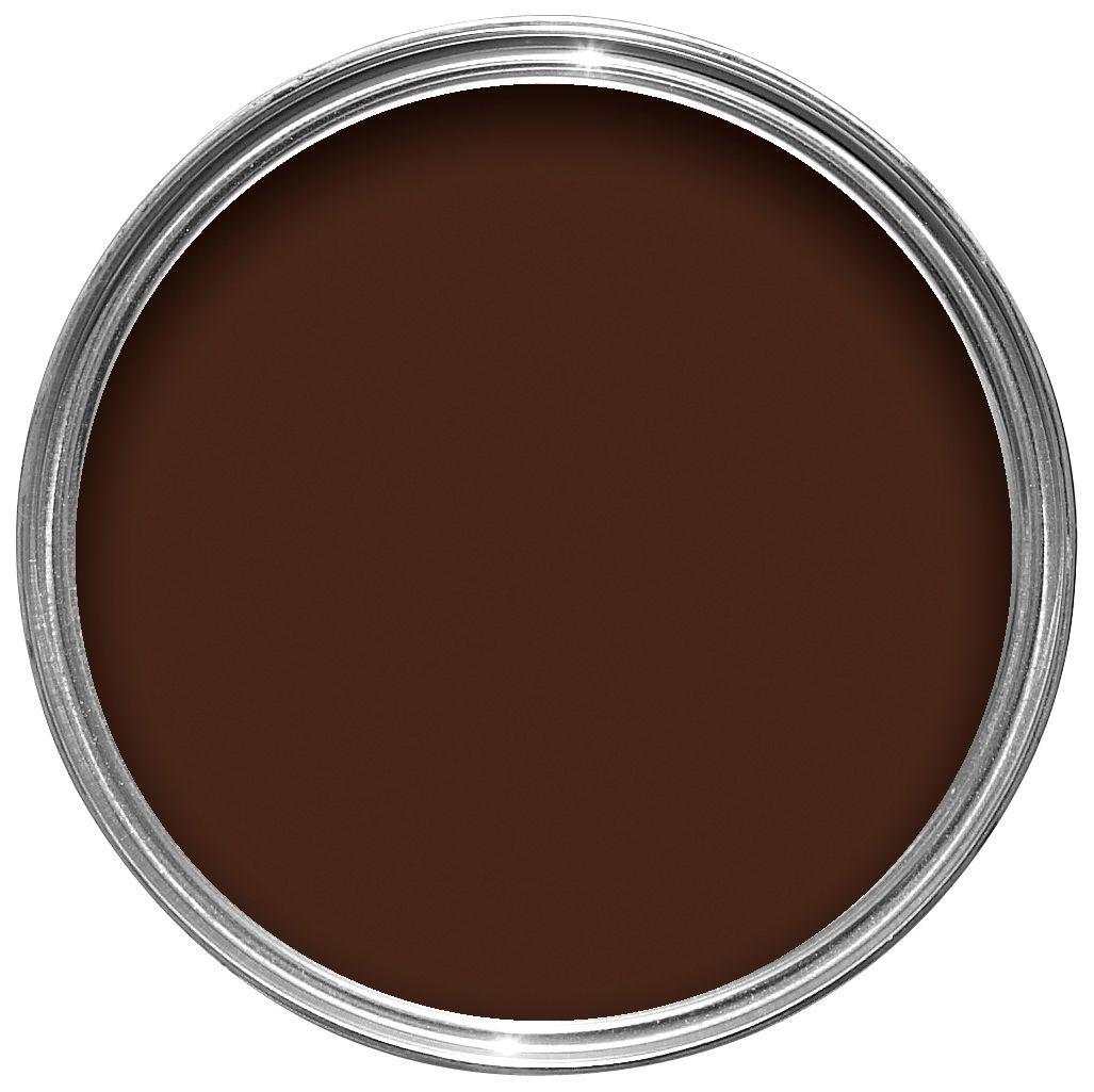 chocolate kitchen cabinets home depot carts dulux interior fondant gloss wood & metal paint ...
