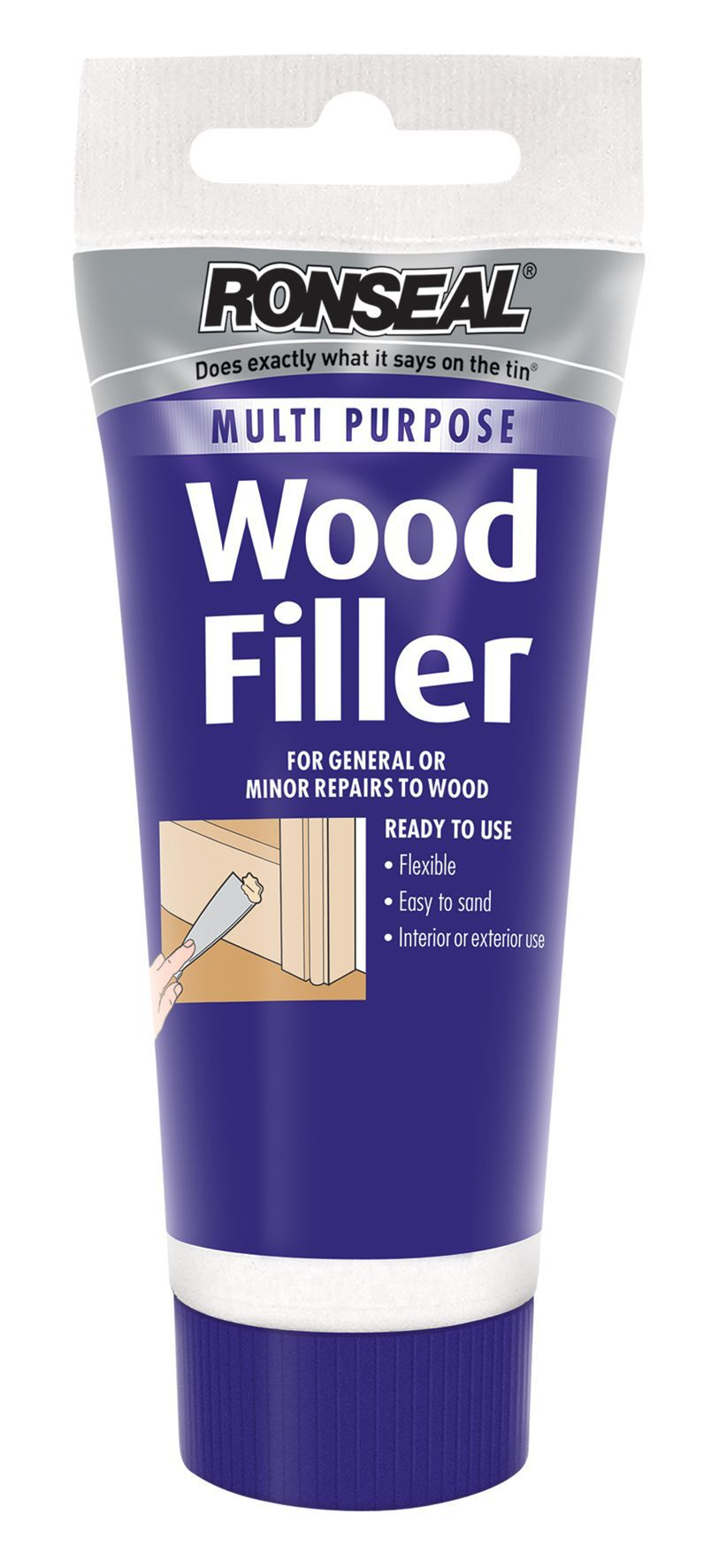 Ronseal White wood filler 100g  Departments  DIY at BQ