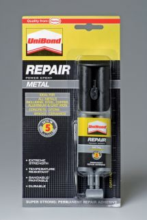 Unibond Repair Metal Epoxy Glue 25ml Departments Diy