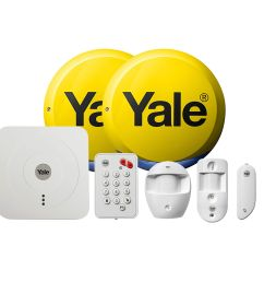 yale wireless smart home view alarm kit [ 2000 x 2000 Pixel ]