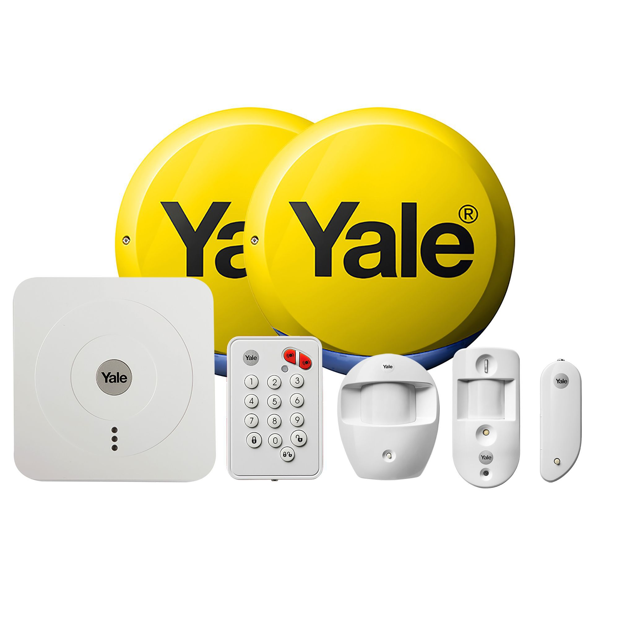 hight resolution of yale wireless smart home view alarm kit