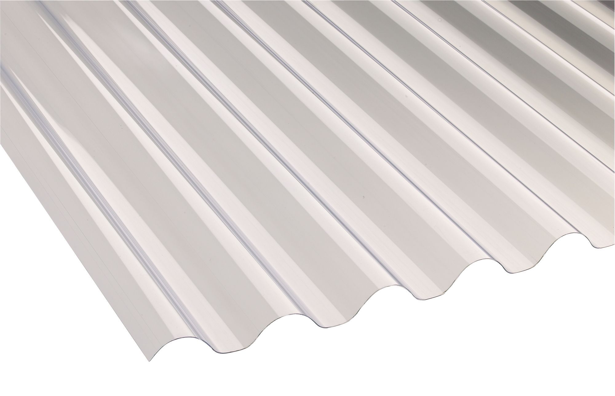 Translucent PVC Roofing Sheet 18M x 660mm  Departments