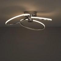 Jago LED Chrome effect 3 Lamp Ceiling light