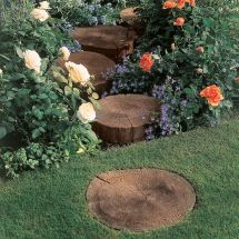 Antique Brown Stepping Stone Departments Diy &