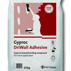 Diy Kitchen Tables Cabinet Restoration Gyproc Driwall Adhesive 25kg   Departments At B&q