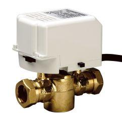 Drayton 3 Port Mid Position Valve Wiring Diagram Water Heater Timer Compression 2 Motorised Dia 22mm