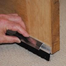 Stormguard Pvc & Brush Adhesive Door Seal L 838mm