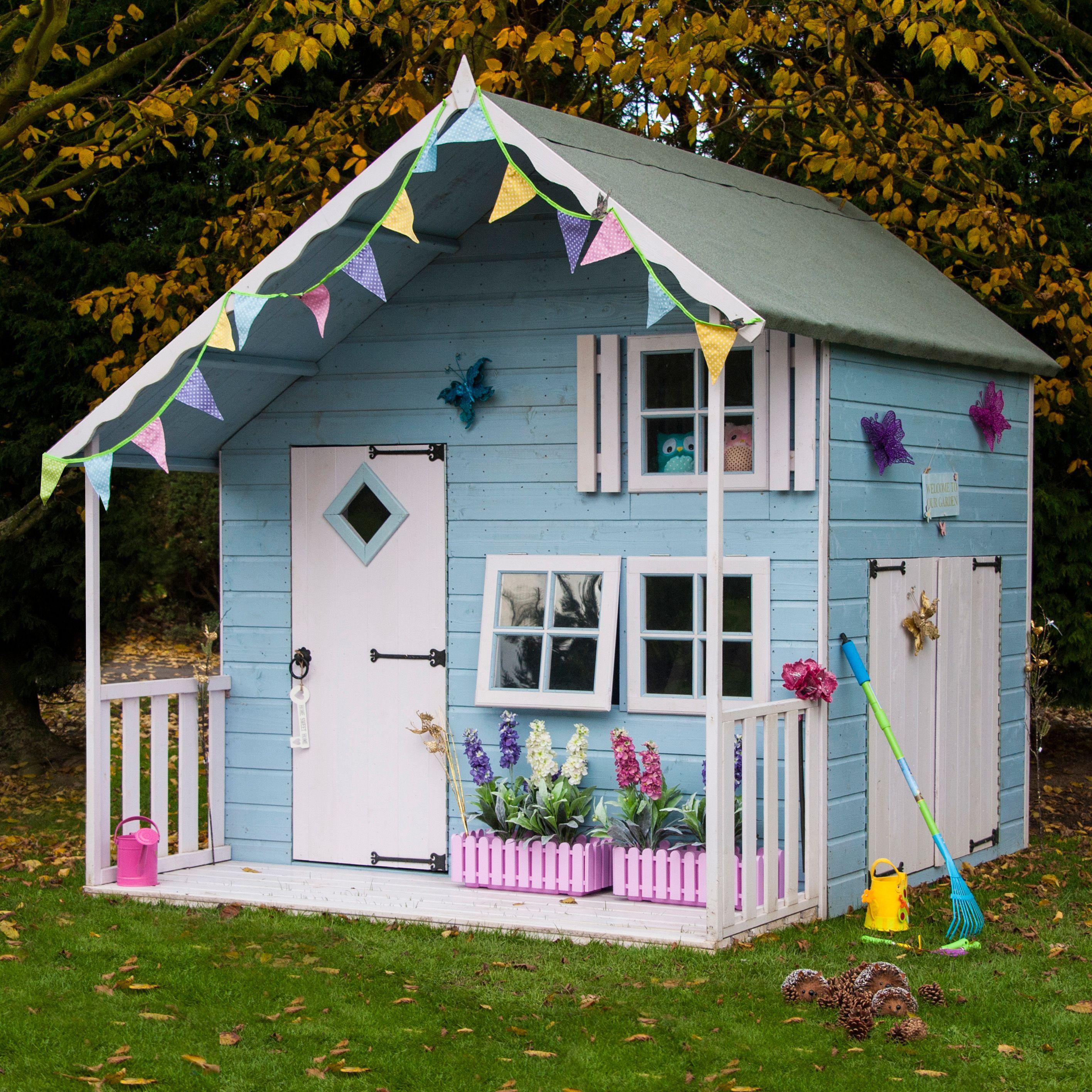 mini kitchen appliances making cabinet doors 7x8 crib playhouse | departments diy at b&q