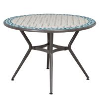 Silene Metal 4 seater Round table | Departments | DIY at B&Q