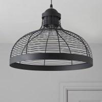 Baici Wire Black Pendant Ceiling Light | Departments | DIY ...