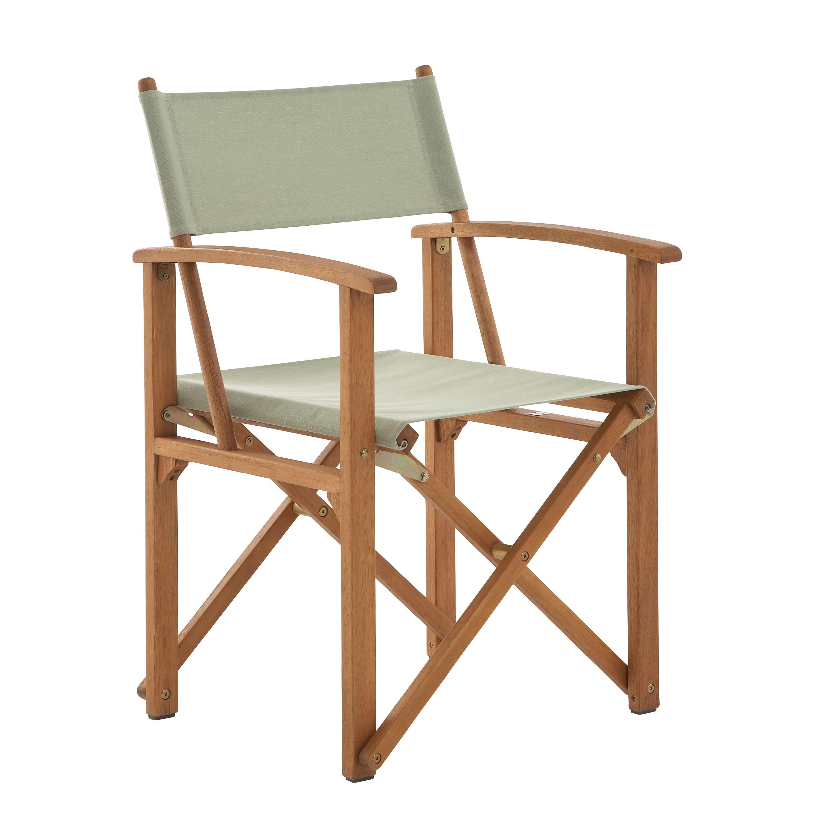 Director Chair Replacement Canvas Aland Wooden Director Chair Departments Diy At B Andq