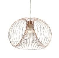 Marceau Wire Grey Pendant Ceiling Light | Departments ...