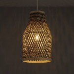 Colours Pianosa Black Bamboo Light Shade D 230mm Departments Diy At B Q