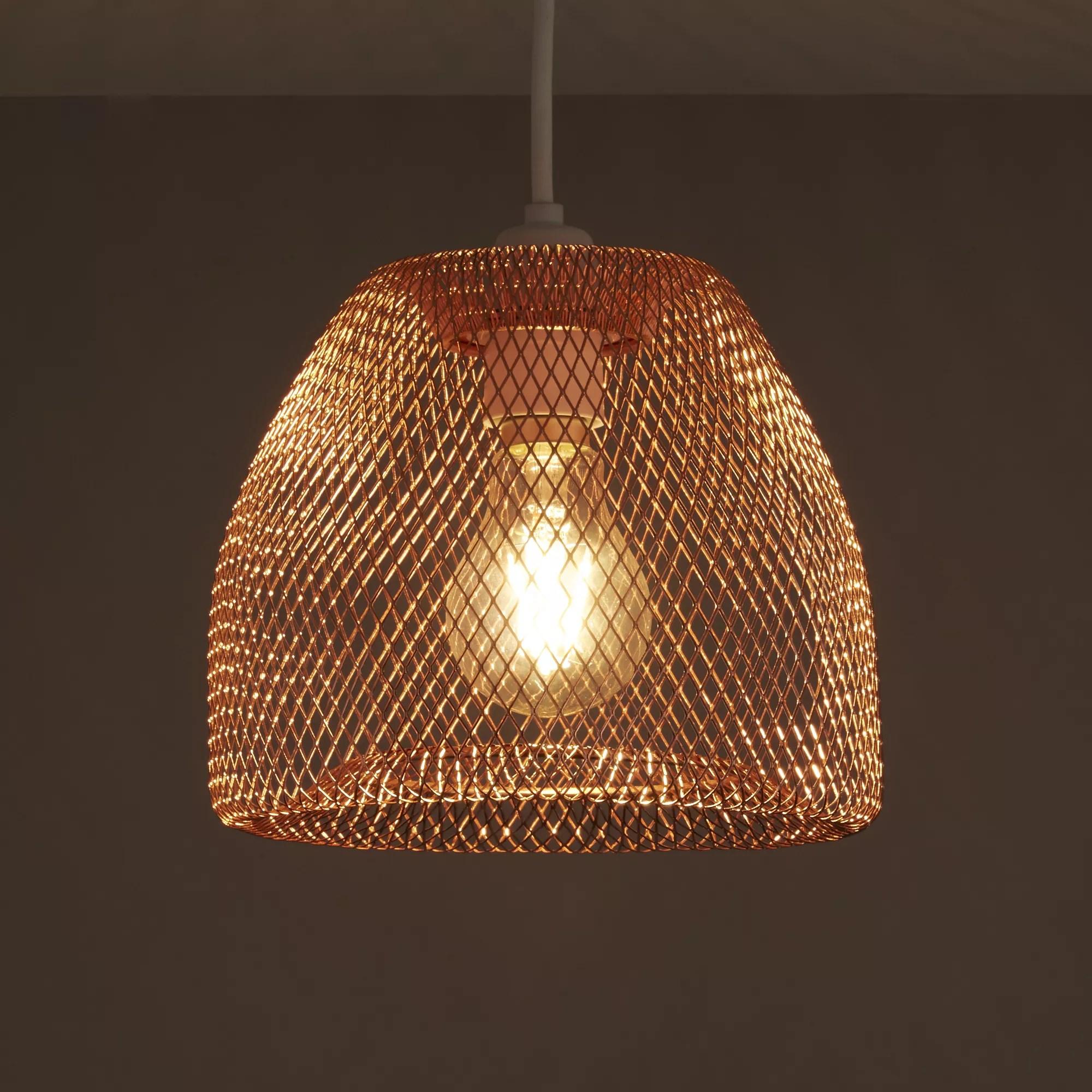 Colours Gatun Copper Wire Light Shade D205mm